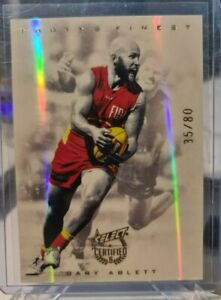 Select CERTIFIED 2016 FOOTY'S FINEST Gary Ablett  #35 of 80 FF5 Gold Coast