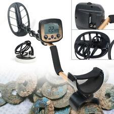 Lcd Display Metal Detector Gold Digger Hunter Deep Sensitive Coil w/ Headphone