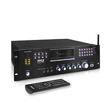 Pyle PD1000BT Bluetooth 4 Channel Home Theater Preamplifier Stereo Sound System