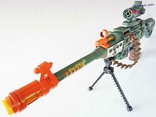 Toy Guns Toy Electronic LMG Machine Gun w/ Scope & Bipod Set