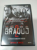 Braquo Seconda Stagione 2 Completa Olivier Marchal 3 X DVD Spagnolo Francese
