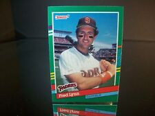 Fred Lynn Donruss 1991 Card #673 San Diego Padres MLB Baseball