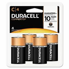 2 Pack Duracell C Batteries Pack of 4 Sealed Fresh - Expiration 03/2027