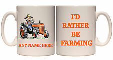 PERSONALISED FARMING FARMER MUG TRACTOR GIFT NAME OR YOUR PHOTO TEXT PRESENT