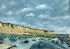 original Terry George cliffs at Cromer Norfolk