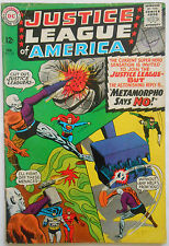 JUSTICE LEAGUE OF AMERICA #42 - FEB 1966 - METAMORPHO - FN (6.0) CENTS COPY!
