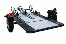 Motorcycle Cargo Trailer - Single, 2 or 3 Rail Used For Harley Gold Wing Etc