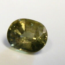 Quality Australian yellow/green sapphire gemstone...1.14 Carat gem