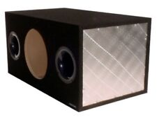 "OBCON GZ Series Single 12"" Dual Ported Enclosure 3/4"" MDF 4.1 Cu Ft Air Space"