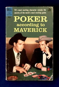 TV tie-in pb POKER ACCORDING TO MAVERICK (Dell #B142 1st, 1959)
