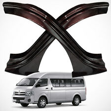 Toyota Hiace Commuter High Roof Sill Scuff Plate Red Kevlar fit 2005 - 2017