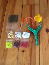 course fishing joblot of maggots catapult hooks baiting needle