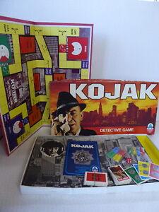 Kojak Detective Board Game - Arrow Games No 6914 1975 - Complete