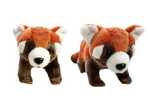 1 X PLUSH RED PANDA 26CM teddy gift soft toy stuffed animal bedtime endangered