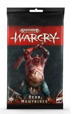 Warcry Ogor Mawtribes Card Pack Games Workshop 99220213002