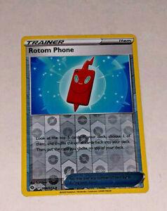 Pokemon Rotom Phone Champion's Path 64/073 Reverse Holo Foil Card Nintendo