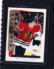 96-97 1996-97 BE A PLAYER GARY SUTER AUTOGRAPH AUTO 180 CHICAGO BLACKHAWKS