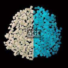 """1OZ. Glow In The Dark SKY BLUE 1/16-1/8"""" AGT™ GLOW STONE"""