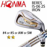 2-STAR HONMA GOLF JPN BERES IS-06 SINGLE IRON (#4.5.A or S) ARMRQ X 2018 091802