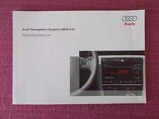 AUDI SAT NAV NAVIGATION SYSTEM (BNS 5.0) USER MANUAL HANDBOOK TT R8. (ACQ 5591)