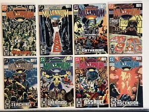 DC Millennium 1-8 1st Extrano DC's first openly gay character Near Mint Full Set