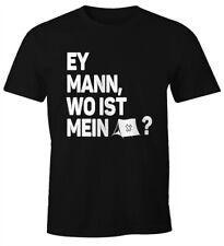 Herren T-Shirt Spruch Ey Mann, wo ist mein Zelt?  Fun-Shirt Party Festival