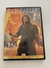 Braveheart (Dvd, 2000, Widescreen) Mel Gibson