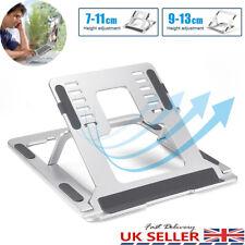 More details for adjustable laptop stand folding portable mesh desktop ipad book holder office