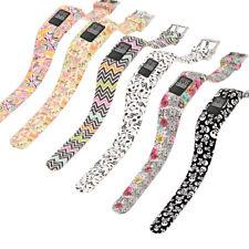 Boy Girls L/S Sports Silicone Wrist Band Strap Loop For Garmin Vivofit Jr/Jr 2