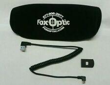 New Fox Optic Sightmark Wraith Port Cover & External 2 amp Cord W/Neoprene Cover