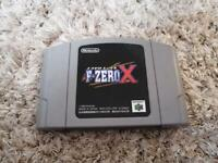 F-Zero X; Nintendo 64; Japan Import