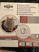 PetSafe Microchip Cat Flap Door 100 Series Compatible w/ PetSafe Rfid Keys