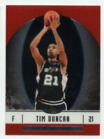 2006-07 Topps Finest TIM DUNCAN Rare BASE BASKETBALL CARD #9 San Antonio Spurs