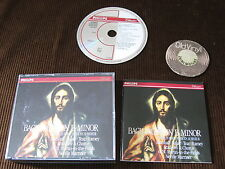 2 CD bach mass dans B Minor Marshall Baker Tear à Ramey FULL SILVER RING GERMANY