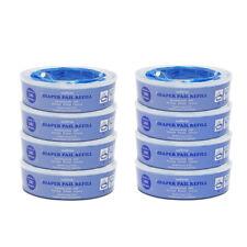8er. Ersatzkassetten Nachfüllkassetten  für Angelcare Windeleim Systeme