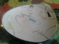 VTG Mid-Century Modern Porcelain Art Dish Plate  Bowl Space Age Atomic
