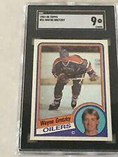 1984 - 1985 Topps Wayne Gretzky SGC 9 MINT #51 Graded Hockey Card