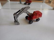 Matchbox Kingsize Hydraulic Excavator in Red