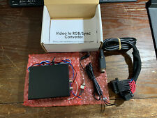 NEW Video to RGB Sync Converter - Add video to your car's navigation system!!!