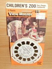 View Master 3D Children's Zoo Reels