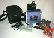 Camera Canon powershot SX500 IS lens 30x Optical zoom 16.0 MG 3.0 inch LCD