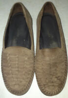 Clarks Shoes 6.5 M, Slip On Casual Loafer Brown Leather