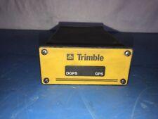 TRIMBLE DGPS GPS DUAL PORT RECEIVER MODULE BOX