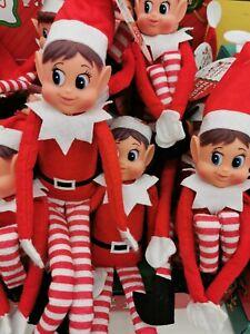 Sitting Elf Christmas Toy on the shelf Naughty Elf Elves Girl