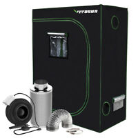 "VIVOSUN 2' x 4' Grow Tent w/ 4"" 6"" inch Inline Fan Carbon Filter Air Ducting Kit"