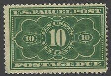 US Scott # JQ4, MH 10c,Numeral, F/VF, Beautiful Stamp!