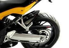 Honda CBR650F 14-18 Rear Hugger Gloss Black Silver Mesh - Powerbronze