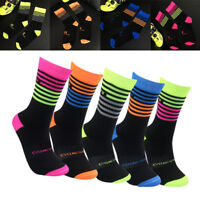 NEW Unisex Fitness Cycling Socks Men Professional Breathable Sports Bike Socks