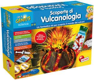 I'm A Genius Laboratorio Scoperte Di Vulcanologia LISCIANI GIOCHI