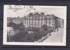 Alte AK vom Hotel Regina in Wien am Maximilianplatz gelaufen